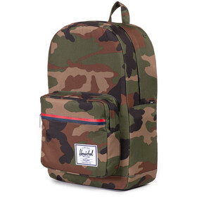 Herschel Pop Quiz Backpack 22L, woodland camo/multi zip
